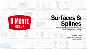 SolidWorks World 2015 – Surfaces and Splines