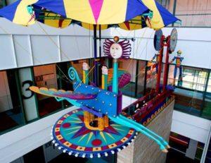 Eaton Studios Atrium Sculpture