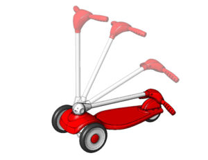 Radio Flyer #540 Scooter