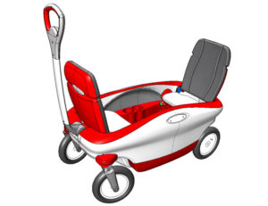 "Radio Flyer ""Cloud 9"" Concept Wagon"