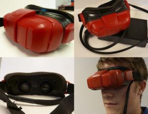 TDVision 3D Visor