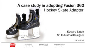 Autodesk University 2016 – A Case Study In Adopting Fusion 360