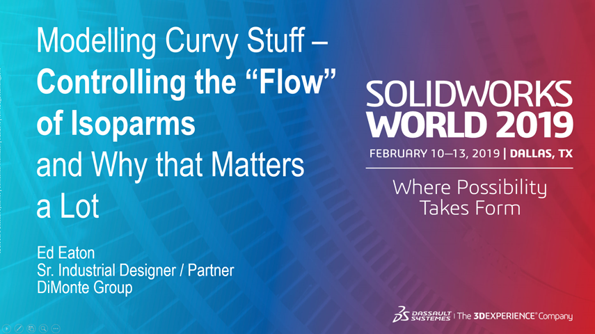 """Modelling Curvy Stuff – Controlling the """"Flow"""" of Isoparms and Why that Matters a Lot"""